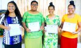 The four finalists in the 2018 Gagana Samoa Writing Competition
