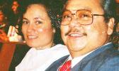 Amata with Gov. Tenorio  [courtesy photo]