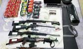 Guns and ammunition seized in Tonga
