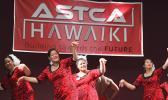 ASTCA employees dancing