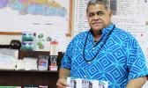 WORK IN PROGRESS: Minister of Agriculture and Fisheries and Scientific Research Organizations of Samoa (S.R.O.S), La'auli Leuatea Polata'ivao.  [Samoa Observer]