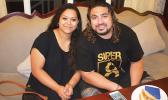 POPULAR SAMOAN ACTOR: Albert and his wife Rebecca Tupuola at Sheraton Samoa Aggie Grey's 24-7 Café during an interview with the Samoa Observer. (Photo: Misiona Simo)