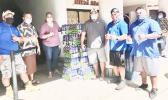 Elisapeta Alaimaleata,Aloha Harvest volunteers,Tuiafono Vai Sua and a staff member, Filipo Ilaoa