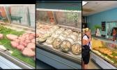 Island Fisheries Market fish counter