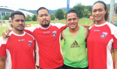 Nicky Salapu and Jaiyah Saelua (second from right and right)