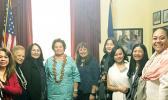 Amata and friends at opening of 116th Congress