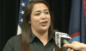 Jenna Blas, public information officer for the Guam Office of Homeland Security and Civil Defense.