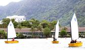 Eleven sailors from Apia traveled to American Samoa this past weekend to compete in the Pago Pago Harbor Optimist Sailing Regatta on Saturday, Oct. 14, 2017 out of Sadie's By the Sea. This is the first junior sailing regatta Pago Pago has hosted since 2008.   [Courtesy photo]