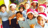 Manumalo Academy K-5 students