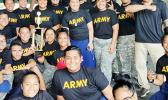 Kanana Fou JROTC rifle team