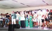 Renowned gospel group, the Katina Brothers on stage in American Samoa