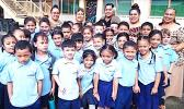 Manumalo Academy  first graders