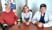 Dale Long, Teri Hunkin and Mike Sala.