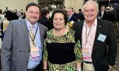 (L-R) Frank Barron, National Committeewoman Aumua Amata, and American Samoa Chairman Taualapapa Will Sword