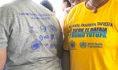 World Health Organization t-shirt for stamping out Filariasis