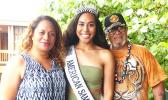 Miss Teen USA, Mariah Naea and family