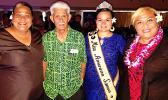Miss American Samoa, Magalita Johnson, with the local staff members of Congresswoman Aumua Amata's Office, at last Friday's Onnuri Christmas Recital