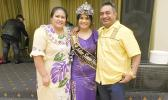 Miss Samoa Melbourne Latisha Sialaoa with her proud parents, Fono and Sialaoa