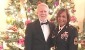 MST Christabel Lupetaliaami Jennings Joyner pictured here with her husband, Chuck Joyner,