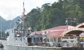 The MV Pago Pago at the Fagatogo wharf
