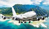 Pacific Air Cargo plane leaving American Samoa