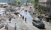 A photo of the bay area shortly after the 2009 tsunami.