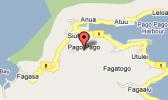 MAP OF TUTUILA WITH PAGO PAGO DESIGNATED
