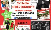 """Pasefika Su'i Fefiloi"" Virtual Concert banner"