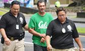 Paul Harman being taken into custody in American Samoa in Nov of this year.