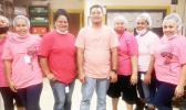 StarKist employees wearing pink for Pinktober