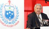 who is also Chair of the Samoa Rugby Union with Samoa Rugby logo