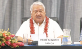 Samoa PM, Tuilaepa Sailele Malielegaoi