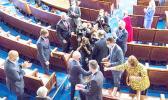 President Biden and Congresswoman Amata fist-bump