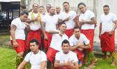 The smiling faces of some prisoners after their Samoan Day last year. Attorneys and DPS personnel have confirmed to Samoa News that prisoners are not getting enough to eat, and sleeping arrangements are of a low standard. [photo: AF]