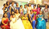 "The lovely young ladies of the local Filipino community who played a part in this year's celebration of the ""Santacruzan"" at the Fatuoaiga Cathedral"