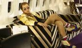 Taron Egerton portraying Elton John