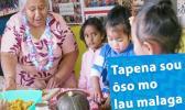 Samoan Language Week poster