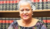 Samoa's Attorney General Savalenoa Mareva Betham-Annandale