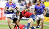 Samoa met Spain in Pool A play