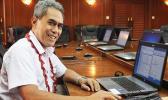 Samoa's Minister of Finance Sili Epa Tuioti.