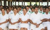 Nurses take their oaths