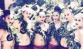 Historical archive photo of Samoan dancers
