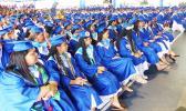 Some of the 190 SHS graduates