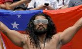Samoa fan at Hong Kong Sevens