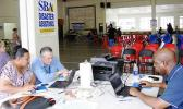 SBA's section on Mar. 13, 2018 at the now closed Disaster Recovery Center