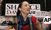 Sharice Davids who is projected to win Kansas's 3rd congressional district.