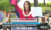 Congresswoman Tulsi Gabbard officially kicking off her 2020 presidential campaign