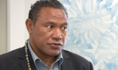 Former All Blacks and Manu Samoa halfback Ofisa Tonu'u