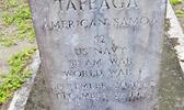 Headstone of Navy Seaman Tafaega of Olosega, Mau'a
