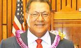 Senate President Gaoteote Tofau Palaie